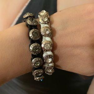 Henri Bendel Set Of Bracelets.
